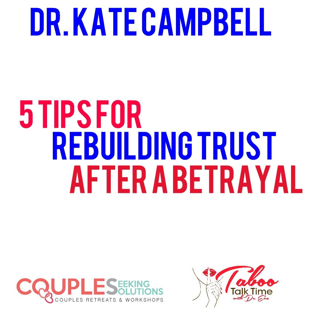rebuilding trust after betrayal
